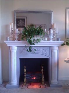 My faux fireplace ;-)