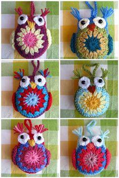 easy owl free pattern