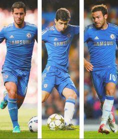 Hazard, Oscar, Mata.