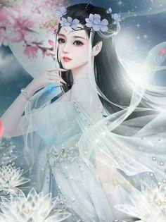 Yêu Anime♥'s media analytics. Beautiful Fantasy Art, Beautiful Anime Girl, Anime Fantasy, Fantasy Girl, Chinese Painting, Chinese Art, Art Graphique, Anime Art Girl, Anime Girls