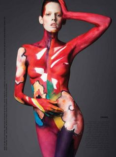 Kristel Van Valkenhoef and Jennifer Pugh by William Lords for VEOIR 4: Body & Art Issue