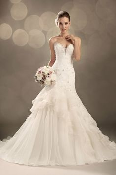 Best for Bride - The Best Bridal Stores (Wedding Dresses Toronto). Best for Bride - The Best Bridal Stores is an Etobicoke-based company that specializes in offering designer bridal gowns. Wedding Dress Train, Country Wedding Dresses, Princess Wedding Dresses, Best Wedding Dresses, Designer Wedding Dresses, Bridal Dresses, Wedding Gowns, Tulle Wedding, Women's Dresses