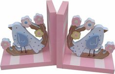 Cherry Blossom Bookends | Jack and Jill Boutique