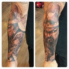 #SickAss Genghis Khan tattoo