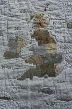 shipping forecast quilt - Janet Clare