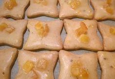 Fahéjas-narancsos kekszek fűszeres mázzal Fish, Meat