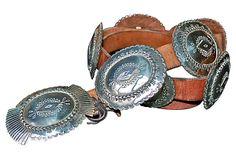 Sterling Silver Concho Belt on OneKingsLane.com  $3,355.00