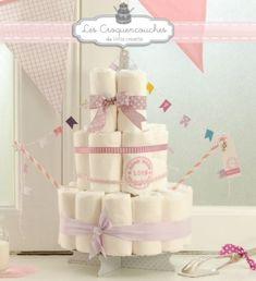 Tous nos conseils pour réaliser soi-même un joli gâteau de couches. Une idée originale pour une baby shower ou un cadeau de naissance personnalisé !