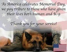 "Doggone Delish en Twitter: ""Thank you! 🇺🇸 #MemorialDay #ThankYouForYourService https://t.co/XSw3EKfCxu"""