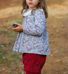 S is for Sewing | Liberty Agnes Blouse and CC Finch Shorts