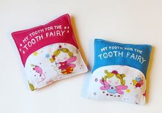 HOW TO SEW CUTE AND PRACTICAL TOOTH PILLOW
