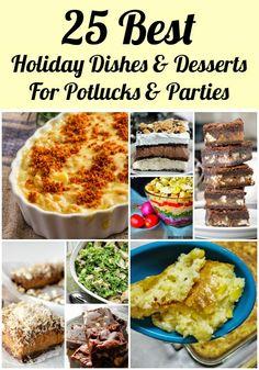 Easy holiday potluck recipes