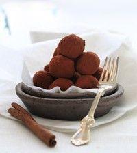 Mmm.. nydelige sjokoladetrøfler som smelter i munnen!
