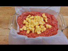 Udělejte večeři za 10 minut a rodina bude šťastná # 219 - YouTube Hamburger Recipes, Beef Recipes, Buttercream Recipe, Le Diner, Hawaiian Pizza, Entrees, Main Dishes, I Am Awesome, Pork