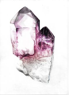 Amethyst. I do so adore coloured rocks...