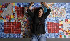 Exposición de Mujeres artistas en la Galería Bohemia. Apertura el 18 de abril a las siete de la noche. Calle 84 56.51, Barranquilla. Patricia quevedo y su obra.