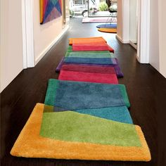 Magic Stepping Stones by Sonya Winner Interior Exterior, Interior Design, Rug Studio, Tapis Design, Custom Rugs, Contemporary Rugs, Modern Rugs, Home And Deco, Traditional Design
