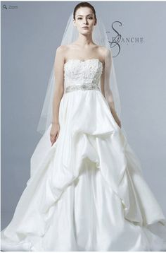 Saison Blanche Wedding Gown - Boutique Collection - Style #B3150