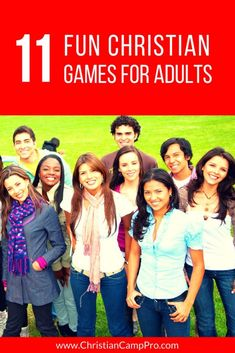 11 Fun Christian Games for Adults – Christian Camp Pro Christian Retreats are a great way to enrich your faith. Games For Ladies, Games For Teens, Adult Games, Fun Games For Adults, Fun Teen Games, Ladies Group, Christian Retreat, Christian Camp, Christian Games For Youth