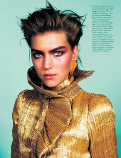 Arizona Muse: Vogue Paris December '11 / '12