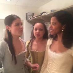 "Watch Lin-Manuel Miranda's Vine, ""The Schuyler Sisters cover Taylor Swift #HamiltonPublic"""