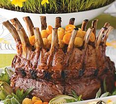 Glam up Your Easter Dinner with a Crown Rack of Lamb!