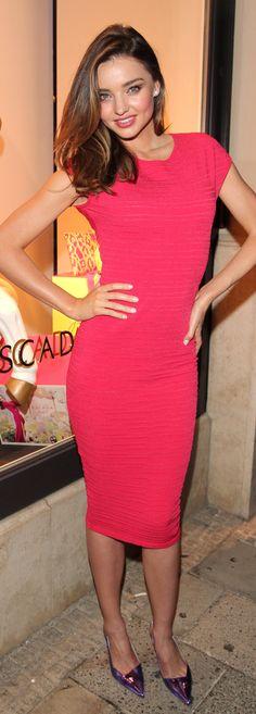 Miranda Kerr in Escada