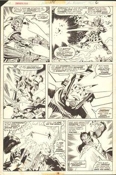 Fantastic Four 175, page 6 Comic Art