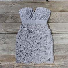 Petals & Pintucks Dress