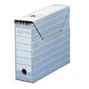 Elba Archivbox tric, für Hängemappen, A4, 9,5 x 34 x 26,5 cm, grau/weiß