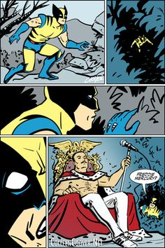 Wolverine meets Freddie Mercury = the greatest Marvel Comics pitch of all time