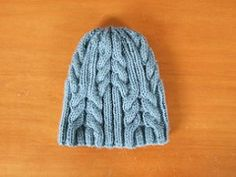 Ravelry: Utopia Cable Hat pattern by SmarieK