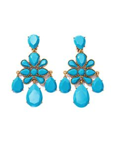 Love this: Iconic Chandelier Earrings @Lyst