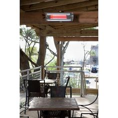 Well Traveled Living 5 118 Amp 110 Volts Silver Stainless Steel Electric Patio Heater At Lowes Com In 2020 Patio Heater Propane Patio Heater Fire Sense
