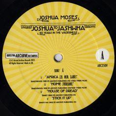 Joshua Moses - Joshua To Jashwha (Label)