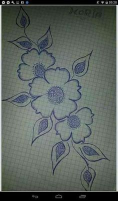 This Pin was discovered by Nah Hand Embroidery Patterns, Applique Patterns, Embroidery Applique, Floral Embroidery, Beaded Embroidery, Beading Patterns, Machine Embroidery Designs, Embroidery Stitches, Fabric Painting