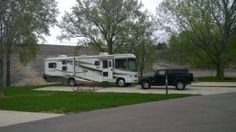 Our recent stay at the Tailwater West Campground (Coralville Dam) in Iowa City, IA on our RV trip around the US