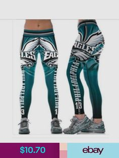Legging Philadelphia Eagles printed high waist wide belt legging 631 in Clothing, Shoes & Accessories, Women's Clothing, Leggings Philadelphia Eagles Apparel, Philadelphia Eagles Merchandise, Philadelphia Sports, Eagles Gear, Eagles Fans, Eagles Nfl, Nfl Colts, Patriots Team, Eagles Clothing