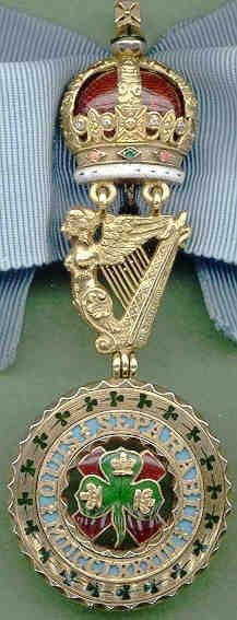 Order of St Patrick - Grand master's badge