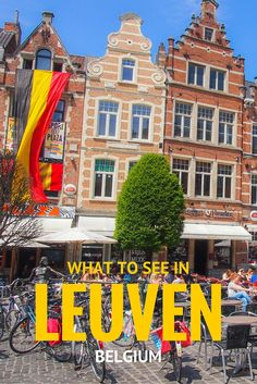 """Louvain, Belgium. Note: please re-translate """"Flemish"""" béguinages to Belgian béguinages. Béguinages originated in Liège in the 1140s and are named after Lambert Le Bègue, one of the first feminists in the world."""