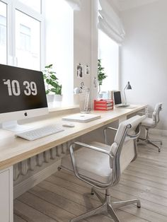 scandinavian interior design style home office design #Modernhomeofficestyling #OfficeChair