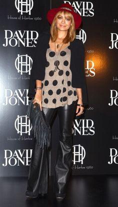 #nicole #richie #dots #fashion #icons #divas #polkadots