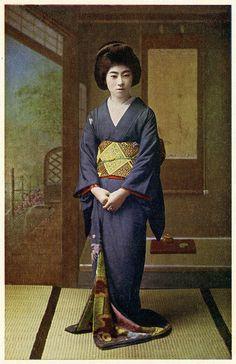 Japanese Vintage Postcard