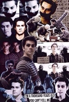 Teen wolf collage Dylan O'Brien | Styles Stilinsky