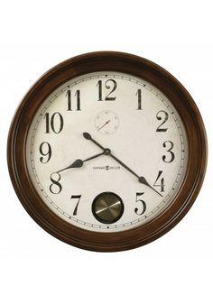 620-484 Auburn, Howard Miller Wall Clock, Hampton Cherry Finish