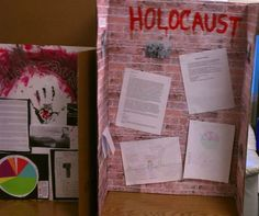 Anyone have any ideas for a holocost project for my sons 8th grade school project?