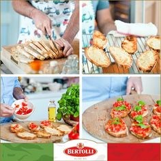 Waste not, want not! The perfect use for bread that's on the way out... #Bertolli #oliveoil #bruschetta