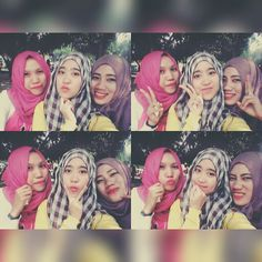 With my lovely friends :-*
