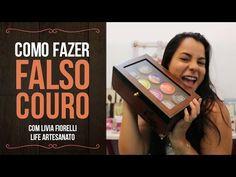 PASSO A PASSO CAIXA FALSO COURO FÁCIL - DIY - YouTube