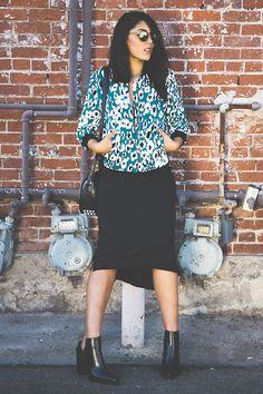 Zara Leopard Multi Colored Bomber, Zara Mules, G Star Raw Maxi Dress